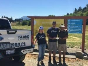 Island Ford donating to hope farm