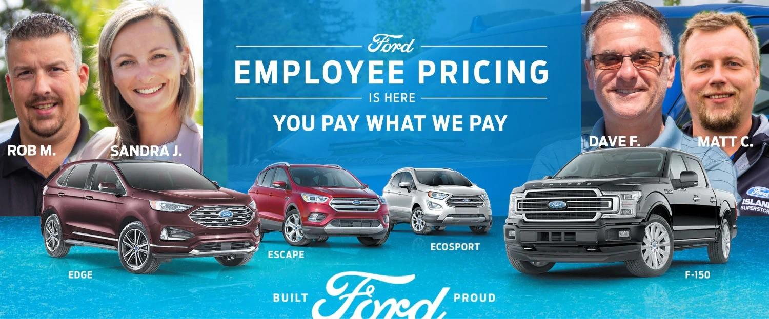 2019 Ford Employee Pricing
