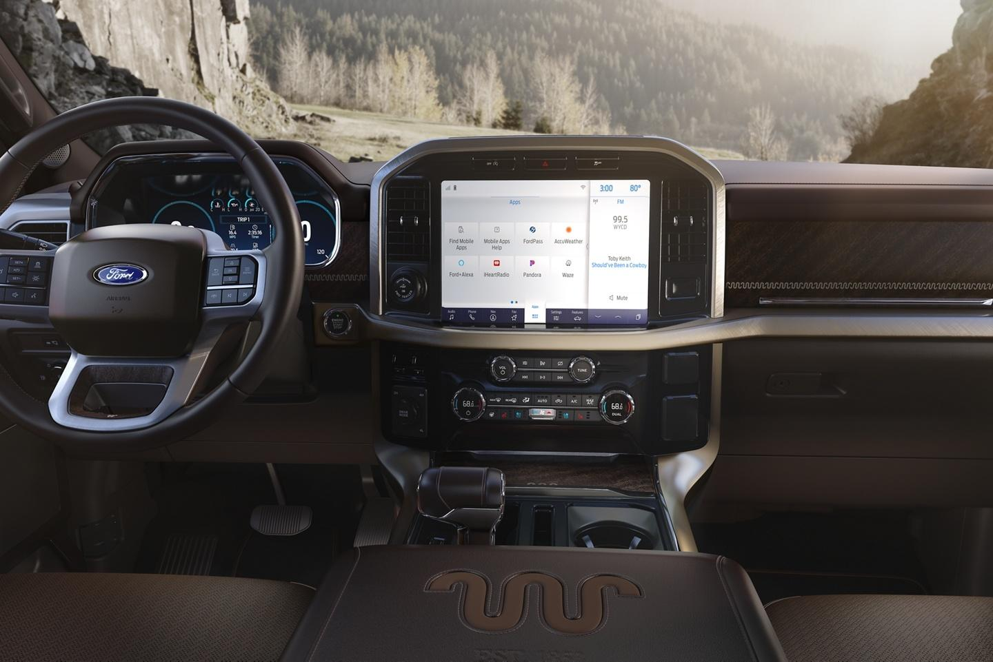 2021 Ford F-150 King Ranch Sync 4