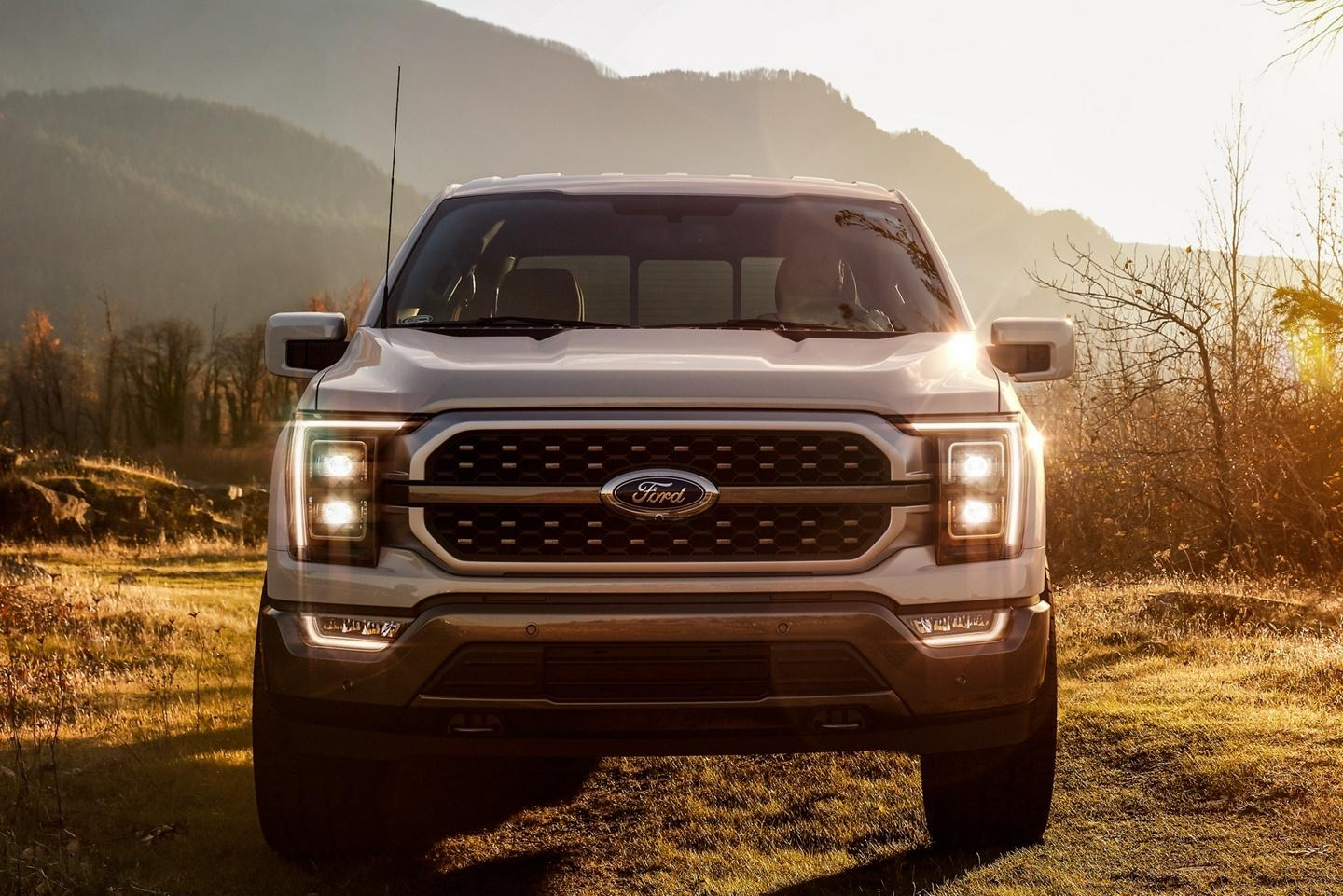 2021 Ford F-150 King Front Face